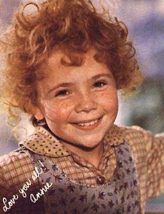 Annie - Aileen Quinn, #Annie, #tomorrow movie, 1982.