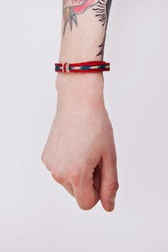 Chamula  Braided Bracelet Red #tiffany tiffany bracelets sterling silver