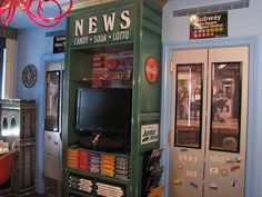NY City Themed Bedroom By The Showplace, Via Flickr