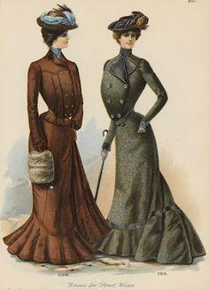 Edwardian Era Clothing: Edwardian Era Fashion Plate - December 1901 The Delineator