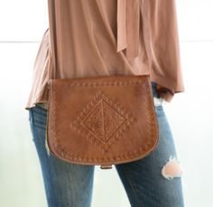 Engraved Messenger Bag - Chocolate Brown Leather Bags Handmade, Chocolate Brown, Hand Stitching, Hermes, Messenger Bag, Artisan, How To Make, Morocco, Shopping