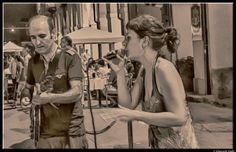 Concert in the street by Giancarlo Gallo