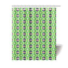 """Seven Tribes Prairie Sunrise Shower Curtain 60""""x72"""""""