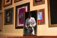 Hamilton picture in Hard Rock Cafe, San Francisco
