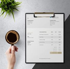 Invoice Template  PDF    business   Pinterest   Template  Pdf and     Free Creative Invoice Template     Golden Touch  elegant  invoice  design   accounting