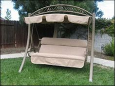 Replacement Cushions For Patio Swings And Canopy Porch Swing