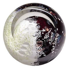 "3"" Celestial Mercury by Glass Eye Studio, Seattle Washington"