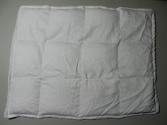 Weighted lap pillow (grounding technique)