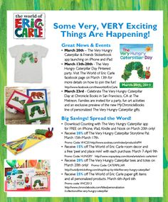 March 20 is The Very Hungry Caterpillar Day
