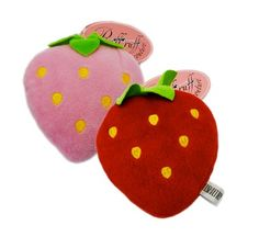 Sweet Strawberry Toy by Ruff Ruff Couture - $5.50