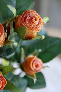 Bacon flowers!