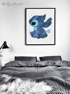 Stitch Inspired Decor Disney Alien Ohana Family by TheRaesPrints