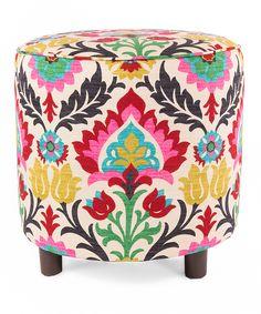 Flower Ottoman ==