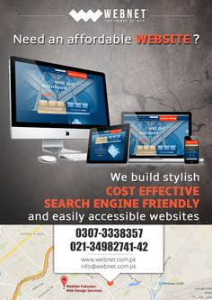 Making Great and Affordable Web Design for Everyone..!!  For Contact us  : 021-34982742 www.webnet.com.pk info@webnet.com.pk