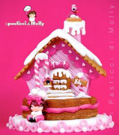 Kelsey would love this for her pink Gingerbread House in 2013...she is already planning for next year !!