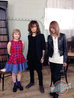 Kaoru and Shinya. Dir en Grey
