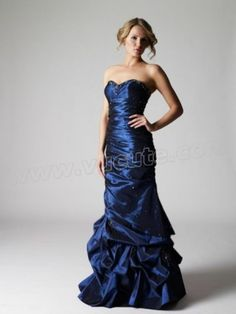 2014 Spring Style A-line Sweetheart Beading Sleeveless Floor-length Taffeta Mother of the Bride Dress