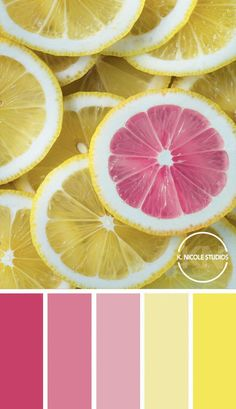 Popping pink with a touch of citrus yellow. The perfect bright palette. palette pink Original Abstract Paintings and Modern Resin Artworks by KNicoleStudios Color Schemes Colour Palettes, Colour Pallette, Color Combos, Bright Colour Palette, Bright Color Schemes, Coastal Color Palettes, Summer Color Palettes, Bright Paint Colors, Pink Palette