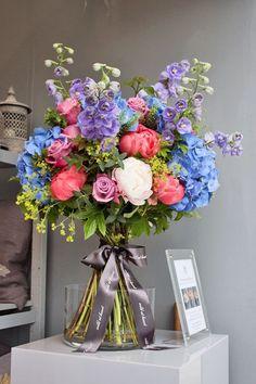 RHS Chelsea Flower Show 2013 – Florist Nikki Tibbles of Wild at Heart's stan...