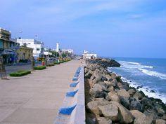 Pondicherry - the promenade... Quiet getaway... A great weekend trip :)