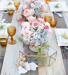 Setting the table **