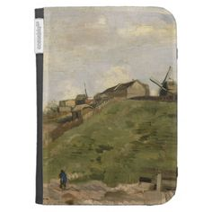 Hill of Montmartre with Stone Quarry by Van Gogh Kindle 3G Cases