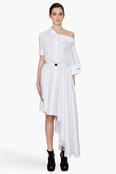VIKTOR  ROLF Asymmetrical Shirt Dress