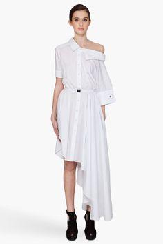 VIKTOR & ROLF Asymmetrical Shirt Dress