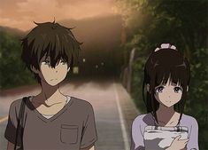 Discovered by bitesized brat . Find images and videos about anime and hyouka on We Heart It - the app to get lost in what you love. Otaku Anime, Moe Anime, Kawaii Anime, Manga Anime, Anime Art, Anime Love, Hyouka Chitanda, Manga Japan, Musaigen No Phantom World