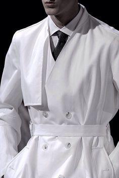 0b412155cd327 Raf Simons Spring 2011 Menswear Fashion Show · Trench Coat ...