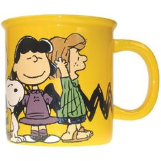Westland Giftware 6-Inch Ceramic Peanuts Gang Monster Mug 52-Ounce