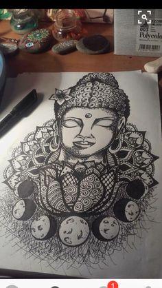 Tattoo sleeve buddha buddhism 46 Ideas for 2019 Inner Arm Tattoos, Body Art Tattoos, Sleeve Tattoos, Star Tattoos, Tatoos, Buddha Tattoos, Buddha Lotus Tattoo, Buddha Tattoo Design, Neue Tattoos