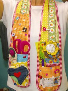 sewing chatelaine pattern free - Google Search