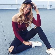 2016 New Arrival Hot Sale Korean Style Women Elegant Slim Fit Crop Tops Bodysuit Fashion Sexy Off Shoulder Red Gray Sweater