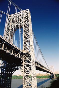 The George Washington Bridge  connects North Jersey to Manhattan. Designed by Boonton's own Othmar Amman.