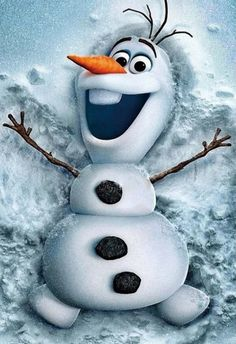 "Olaf from Disney's animated cartoon ""Frozen"". Olaf is an adorable character that was brought to life by Elsa, by the he loves summer which is so ironic. If you have not seen Frozen it's a must see cartoon and now you know a little about Olaf. Disney Olaf, Frozen Disney, Disney Amor, Olaf Frozen, Disney Magic, Walt Disney, Frozen 2013, Frozen Live, Disney Movies On Dvd"