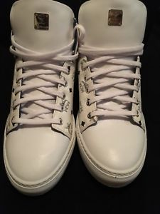 new products c0196 6a980 Dead Stock Never Been Worn 100% Authentic Men MCM Low Top Carryover Sneakers  👟