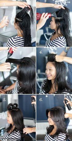 Jak unieść włosy u nasady BEZ TAPIROWANIA!