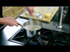 Gordon Ramsay - How to make a classic white sauce with cheese