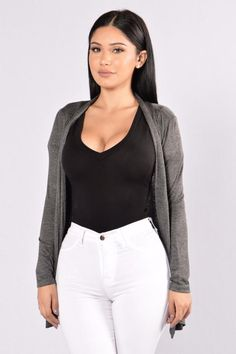 a7a7509e24920 Forever Yours Cardigan - Charcoal