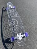 Swirl Ghost Board – Ghost Long Board Jayden Bartels, Platypus, Big Boys, Shark, Purple, Blue, Cute Animals, Turquoise, Yellow