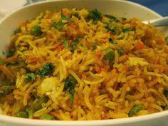 Vegetable Biryani - Famous Indian Recipes