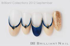 ブリコレ2012年9月号おしゃれで上品なブリリアント流秋色ネイル06