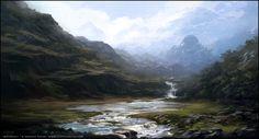 Waterfall By Andreas Rocha