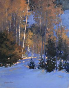 Evening Glimmer by Barbara Jaenicke Oil ~ 20 x 16