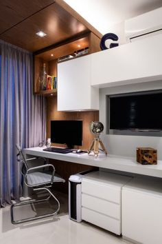 Home Office, Rio, Flat Screen, Grey And White, Travertine, Couple Room, Bedrooms, Environment, Main Entrance