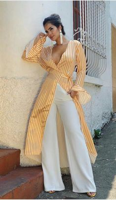 Chic Outfits, Girl Outfits, Croquis Fashion, Pool Party Outfits, Honeymoon Outfits, Sophisticated Outfits, Layered Fashion, Diva Fashion, Blouses For Women