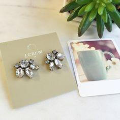 Cute stud earrings Cute earrings from Jcrew factory J. Crew Jewelry Earrings