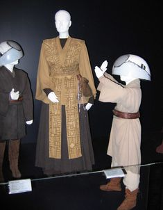 Someday I will make myself a jedi costume with decorative tabards like Jocasta and some of the other female Jedi wear.