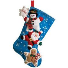 @Overstock - BUCILLA-Felt Stocking Kit: Christmas Stars. Make a super cute stocking that is sure to get filled up with this great kit. Everything you need to make one 18-inch stocking is included.http://www.overstock.com/Crafts-Sewing/Christmas-Stars-Stocking-Felt-Applique-Kit-18-Long/6793178/product.html?CID=214117 $19.99